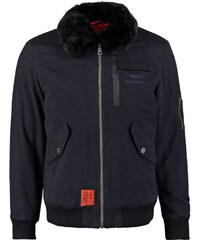 Bombers FLY FOURRURE Veste d'hiver navy