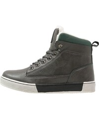 fullstop. Baskets montantes dark grey/dark green