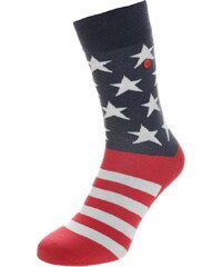 Unabux Chaussettes red/blue/white
