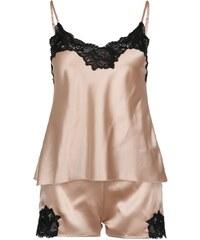 LingaDore ARIA SET Pyjama gold/black