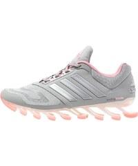 adidas Performance SPRINGBLADE DRIVE 2 Chaussures de running avec amorti medium grey heather/silver metallic/super pop
