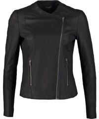 Selected Femme SFDANJAS Veste en cuir black