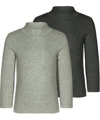 Minimize 2 PACK Tshirt à manches longues medium grey melange