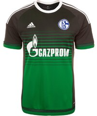 adidas Performance FC SCHALKE 04 3RD 2015/2016 Article de supporter green/anthracite/white