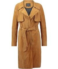 YAS YASTRISH Veste en cuir buckthorn brown