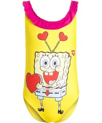 Arena SPONGE LOVE Maillot de bain yellow star/rose violet