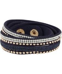 sweet deluxe WANDA Bracelet blau/crystal/gold