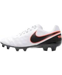 Nike Performance TIEMPO MYSTIC V FG Chaussures de foot à crampons pure platinum/black/hyper orange