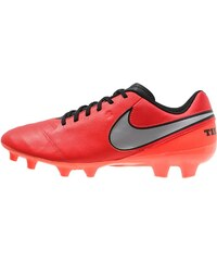 Nike Performance TIEMPO GENIO II FG Chaussures de foot à crampons light crimson/metallic silver/total crimson