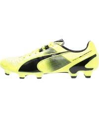 Puma KING II SL FG Chaussures de foot à crampons safety yellow/black