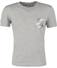 Harris Wilson GUILLERMO Tshirt imprimé gris chine