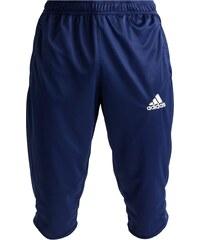 adidas Performance CORE 15 Pantalon 3/4 de sport bleu foncé/blanc