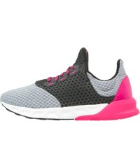 adidas Performance FALCON ELITE 5 Chaussures de running neutres midnight grey/bold pink/core black