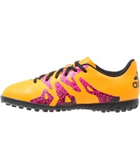adidas Performance X 15.4 TF Chaussures de foot multicrampons solar gold/core black/shock pink