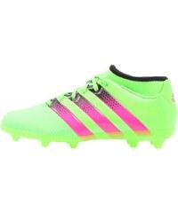 adidas Performance ACE 16.3 PRIMEMESH FG/AG Chaussures de foot à crampons solar green/shock pink/core black