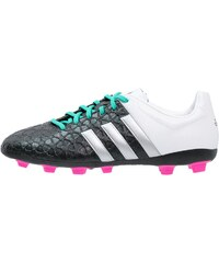 adidas Performance ACE 15.4 FXG Chaussures de foot à crampons core black/matte silver/shock mint