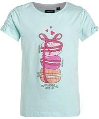Blue Seven Tshirt imprimé aqua