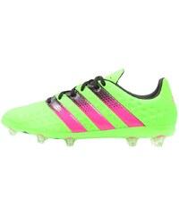 adidas Performance ACE 16.1 FG/AG Chaussures de foot à crampons solar green/shock pink/core black