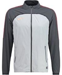 Nike Performance REVOLUTION Veste de survêtement metallic silver/black/hyper orange