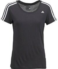 adidas Performance ESSENTIALS Tshirt de sport black/white