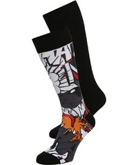 YOUR TURN 2 PACK Chaussettes black