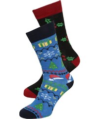 YOUR TURN 2 PACK Chaussettes blue/multicolor