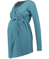 Esprit Maternity Gilet teal blue