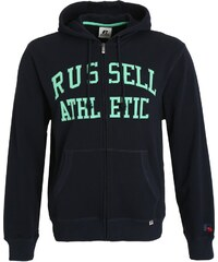 Russell Athletic Sweat zippé navy