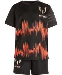 adidas Performance MESSI SET Tshirt imprimé black/solar red/dust metallic