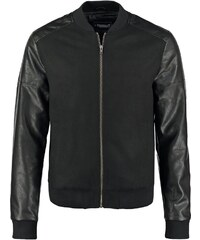 Jack & Jones JJDLN Veste en similicuir black