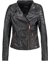 Maze MANDURIA Veste en cuir black