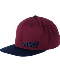 Neff DAILY Casquette maroon/navy