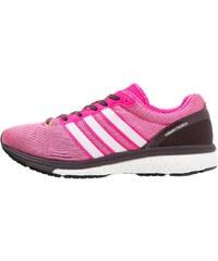 adidas Performance ADIZERO BOSTON BOOST 5 Chaussures de running neutres mineral red/shock pink/bold onix