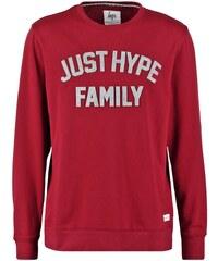 Hype APPLIQUE Sweatshirt burgundy