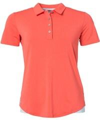 adidas Golf Polo sunset coral/soft blue