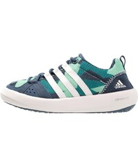 adidas Performance CLIMACOOL BOAT Chaussures aquatiques mineral blue/chalk white/green glow