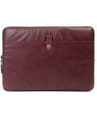 "PKG Red Crown Leather Skinny Sleeve pro MacBook Air/Pro 13"" - burgundy"