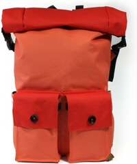 "PKG El Camino Rolltop Backpack pro MacBook 13"" a 15"" - oranžový"
