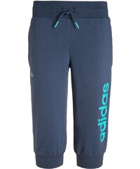 adidas Performance ESSENTIALS Pantalon 3/4 de sport mineral blue/vivid mint