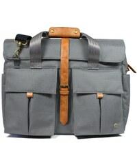 PKG Primary Full Briefcase - šedá