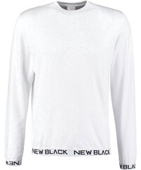 New Black SMASH CREW Tshirt à manches longues white