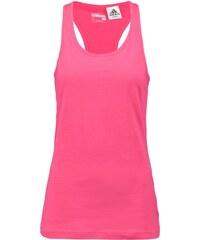 adidas Performance AEROKNIT Tshirt de sport melange shock red/shock pink