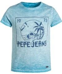 Pepe Jeans LEOPOLD Tshirt imprimé blue