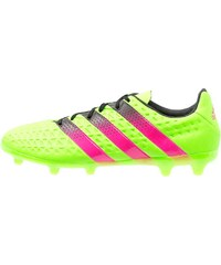 adidas Performance ACE 16.3 FG/AG Chaussures de foot à crampons solar green/shock pink/core black