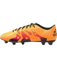 adidas Performance X 15.3 FG/AG Chaussures de foot à crampons solar gold/core black/shock pink