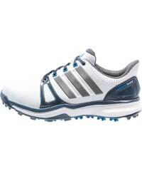 adidas Golf ADIPOWER BOOST 2 WD Chaussures de golf white/mineral blue/shock blue