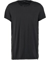 Red collar project GLENN Tshirt imprimé black