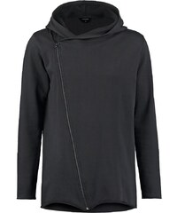 Red collar project GUS Sweat zippé black