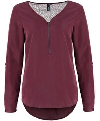 s.Oliver Denim Tunique red wine