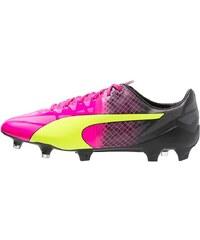Puma EVOSPEED 1.5 TRICKS FG Chaussures de foot à crampons pink/neongelb